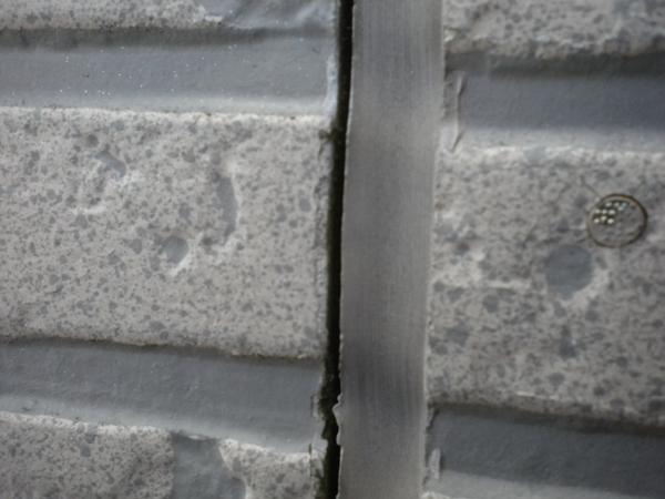 サイディング外壁 コーキングの劣化