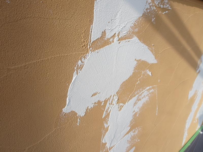 ジョリパット外壁 クラック処理