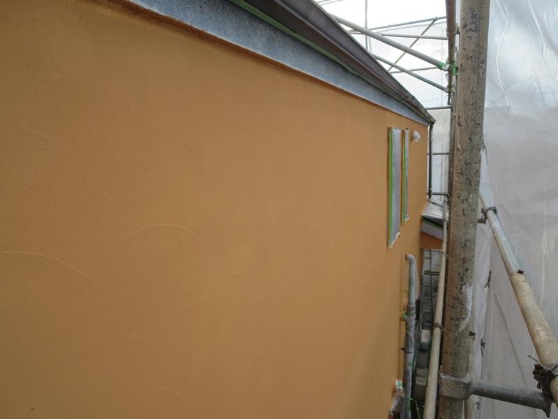 ジョリパット外壁 ジョリパットフレッシュ 塗装後
