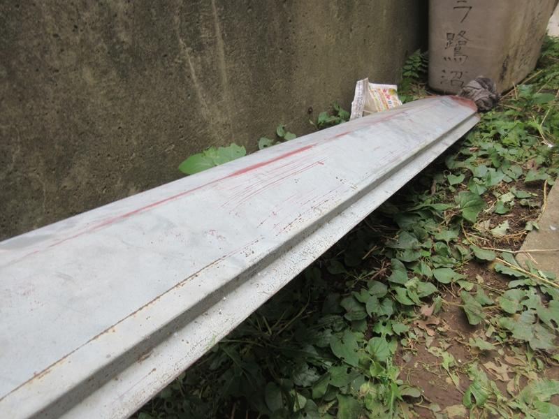 コロニアル 屋根材 棟トタン