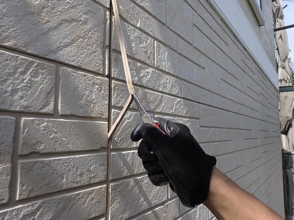 サイディング外壁コーキング打替え