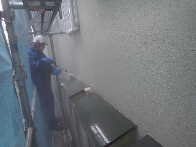 外壁高圧洗浄こうじ