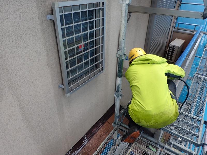 外壁塗装 コロニアル屋根の塗装 川崎市