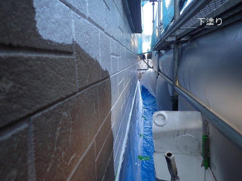 川崎市の外壁塗装 コーキング撤去