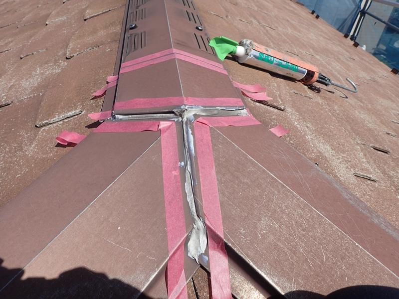 コロニアル屋根塗装 川崎市