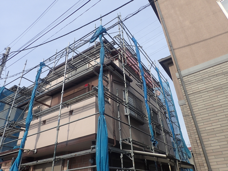 外壁塗装川崎市高津区住宅