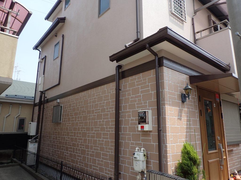 外壁塗装川崎市高津区住宅改装工事