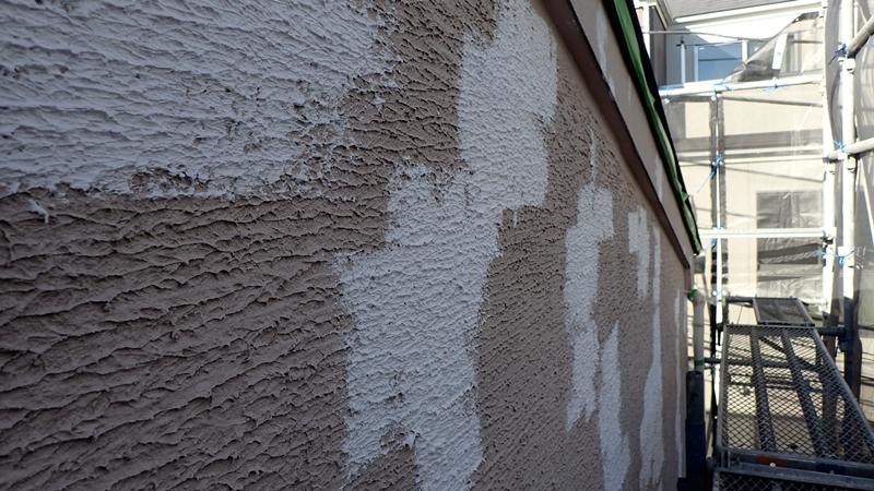 川崎市 中原区 ジョリパット 外壁塗装 クラックの肌合わせ ジョリパットとは