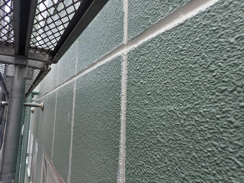 川崎市 高津区 マンション 塗装 ALC 外壁塗装 の施工 コーキング工事