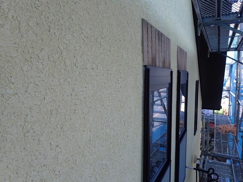 ジョリパット塗り替え ジョリパットフレッシュと玉石スクラッチライン仕上げ 塗りかえ専門店 佐藤塗装店