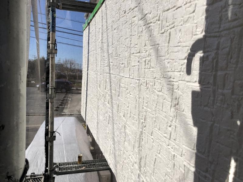 ジョリパット塗り替え ジョリパットファンタジーブリック仕上げ 塗りかえ専門店 佐藤塗装店