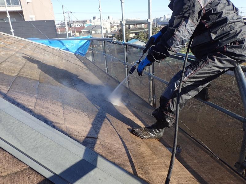 川崎市、東京都、横浜市の外壁塗り替え専門店 佐藤塗装店のサイディング外壁と屋根葺き替え工事 洗浄工事