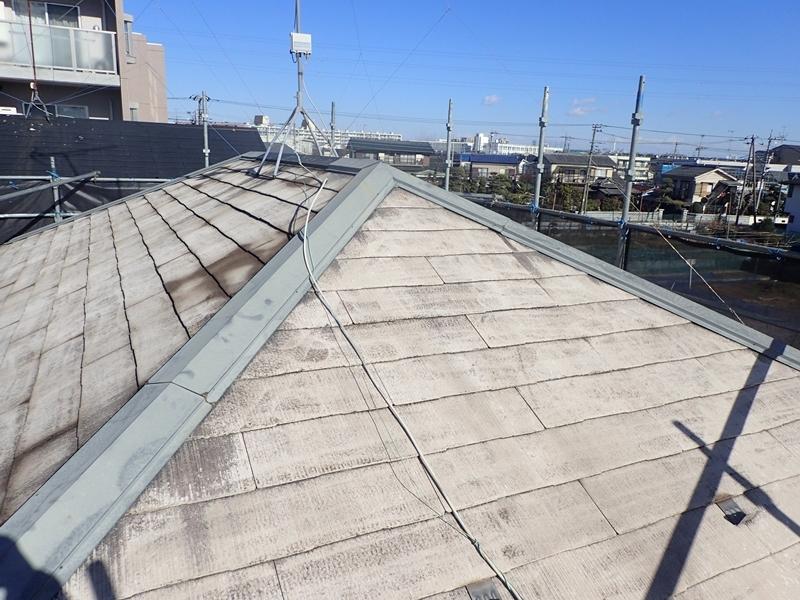 川崎市、東京都、横浜市の外壁塗り替え専門店 佐藤塗装店のサイディング外壁と屋根葺き替え工事 洗浄工事後