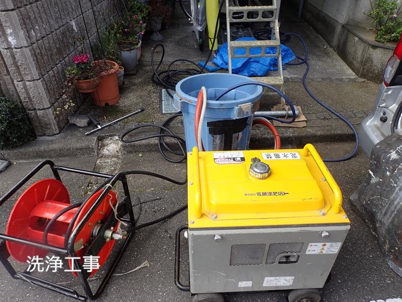 川崎市 、横浜市、 東京都 ジョリパット 塗り替え 外壁塗装  杉並区 住宅 洗浄工事