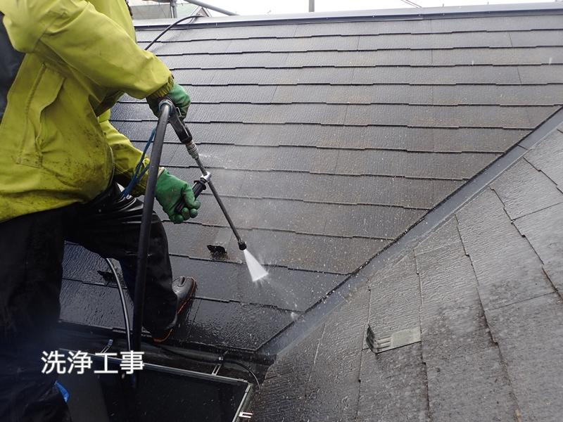 川崎市 、横浜市、 東京都 ジョリパット 塗り替え 外壁塗装  杉並区 住宅 屋根洗浄