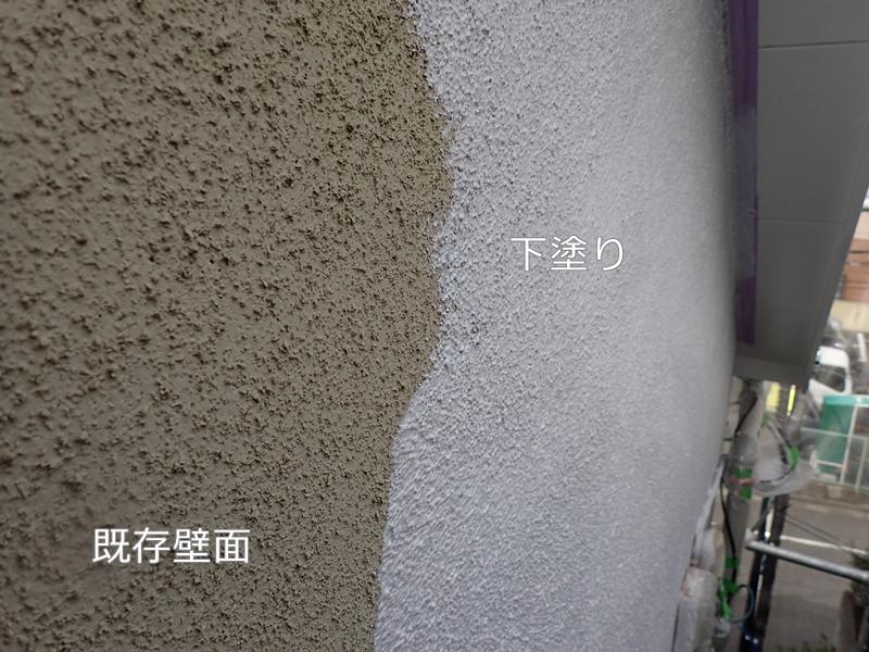 川崎市 、横浜市、 東京都 ジョリパット 塗り替え 外壁塗装  杉並区 住宅 微弾性フィラー塗装