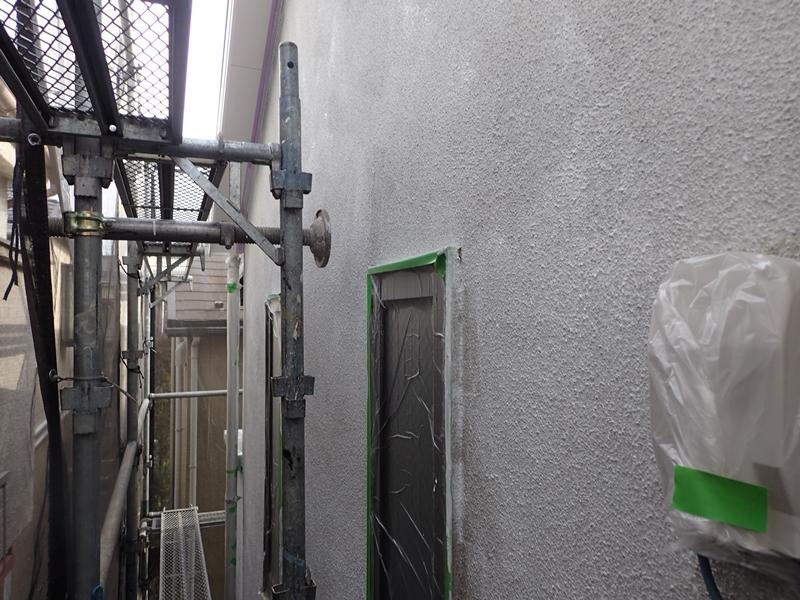 川崎市 、横浜市、 東京都 ジョリパット 塗り替え 外壁塗装  杉並区 住宅 下塗り