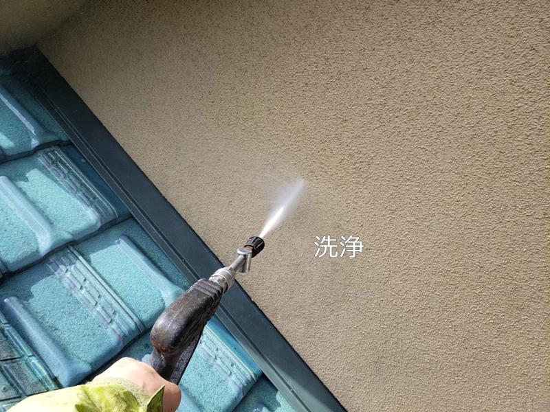 外壁塗り替え ジョリパット 外壁の 塗り替え ジョリパットフレッシュ 洗浄工事
