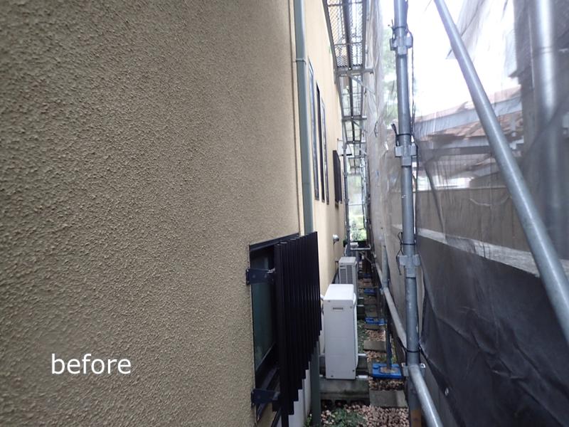 外壁塗り替え ジョリパット 外壁の 塗り替え ジョリパットフレッシュ 塗装工事前
