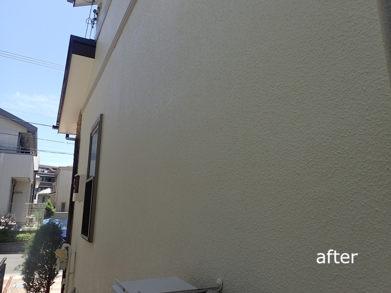 川崎市横浜市東京都の外壁塗装塗り替え専門店 佐藤塗装店の川崎市 麻生区 住宅外壁塗装工事 外壁塗装と屋根塗装