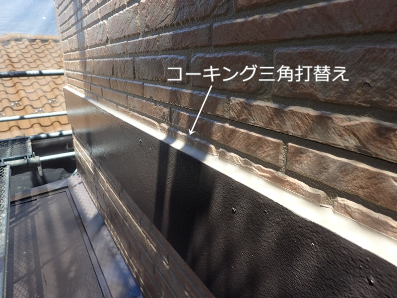川崎市 麻生区 住宅の 外壁塗装 クリアー 塗装 工事前 屋根塗装