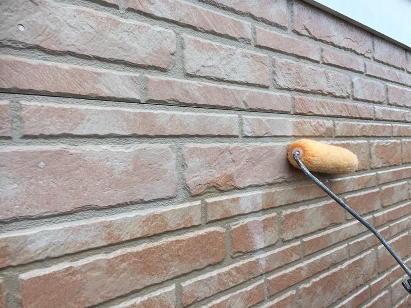 川崎市 麻生区 住宅の 外壁塗装 クリアー 塗装 工事前 クリアー塗装工事前