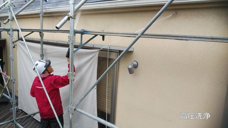 ジョリパットフレッシュの外壁塗り替え工事 佐藤塗装店
