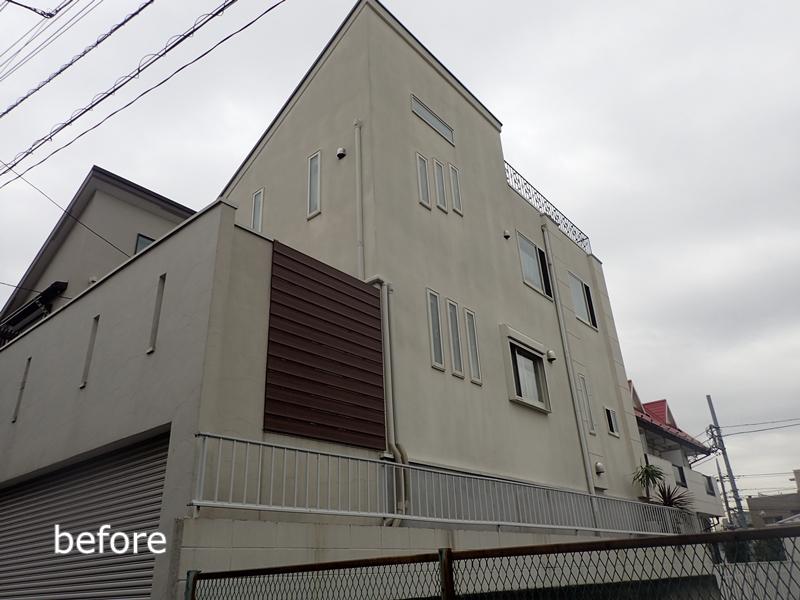 ジョリパット外壁 の塗り替え アレスシルクウォールで外壁塗装 東京都世田谷区