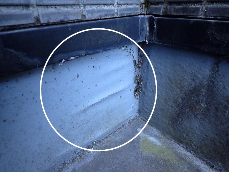 FRP防水 雨漏りが起こる陸屋根の再防水