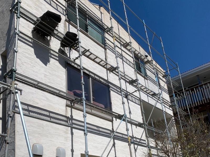 ジョリパット外壁の塗り替え 横浜市の外壁塗装工事ジョリパットフレッシュ