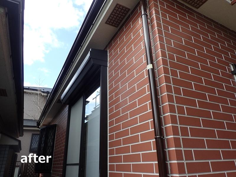 サイディング塗装 ダイナミックトップ、ダイナミックルーフ仕上げ 家の塗り替え工事