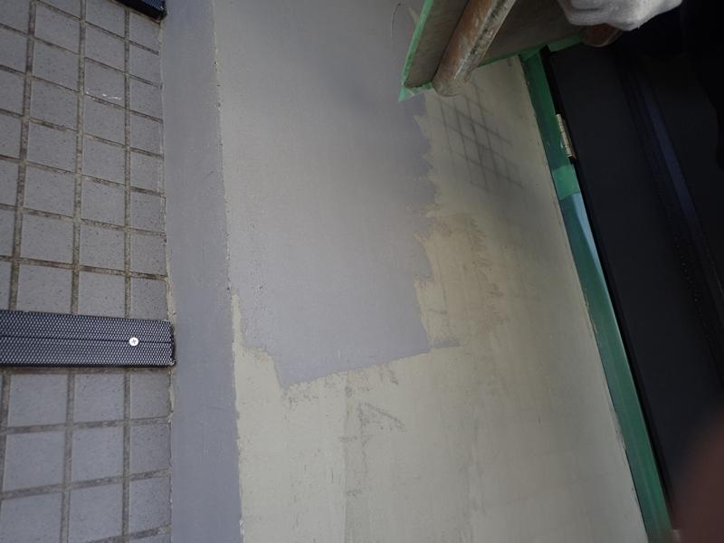 タイルの張り替え 玄関前