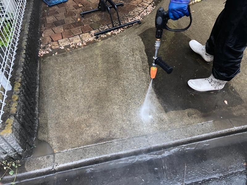 ダイナミックMUKIリシン外壁の塗り替え 神奈川県川崎市高津区住宅の外壁塗装洗浄工事
