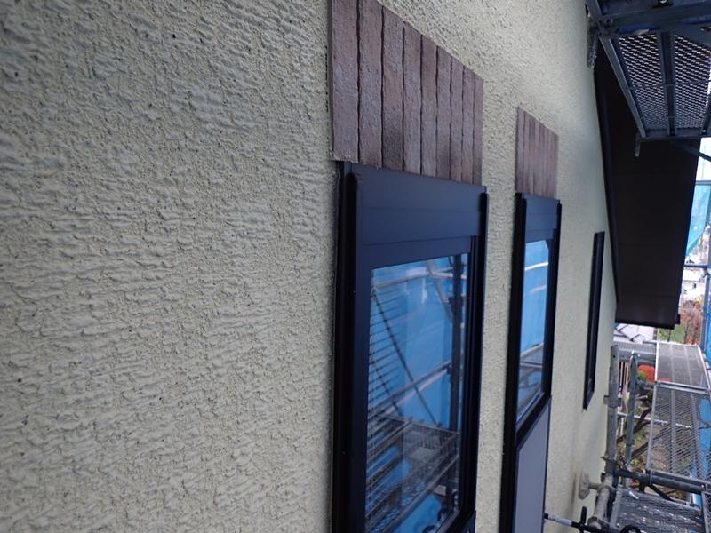 ジョリパットフレッシュ で外壁塗装、壁面塗り替え工事