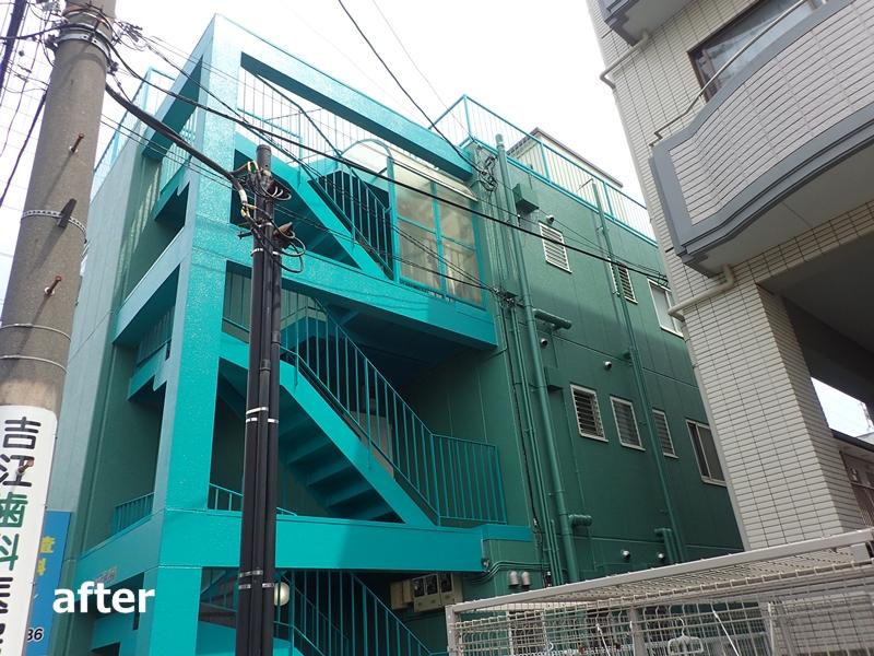 外壁塗装 マンションの塗り替え工事