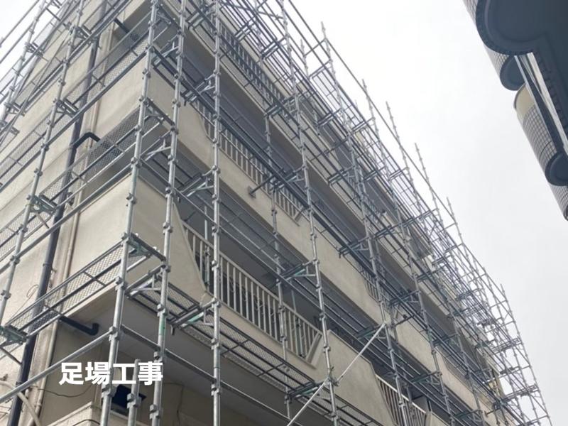集合住宅マンション外壁塗装 川崎市宮前区マンション