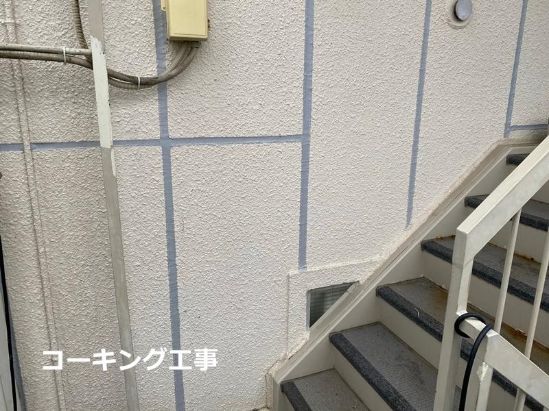 集合住宅マンション外壁塗装 川崎市宮前区マンション コーキング工事